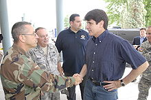 Rod Blagojevich doing what he does best - politicking!