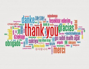 Many ways to say thank you!