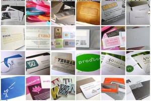 Organize all the business cards you collected at the networking event
