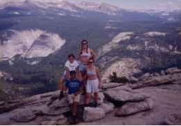 Half Dome with Audie and friends