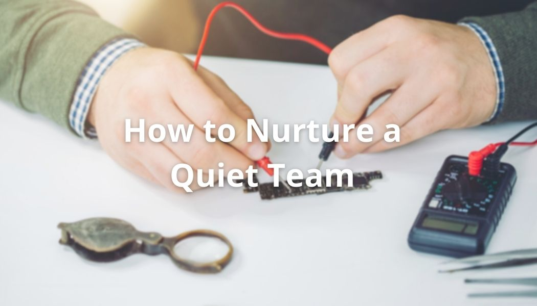 How to Nurture and Protect a Quiet Team