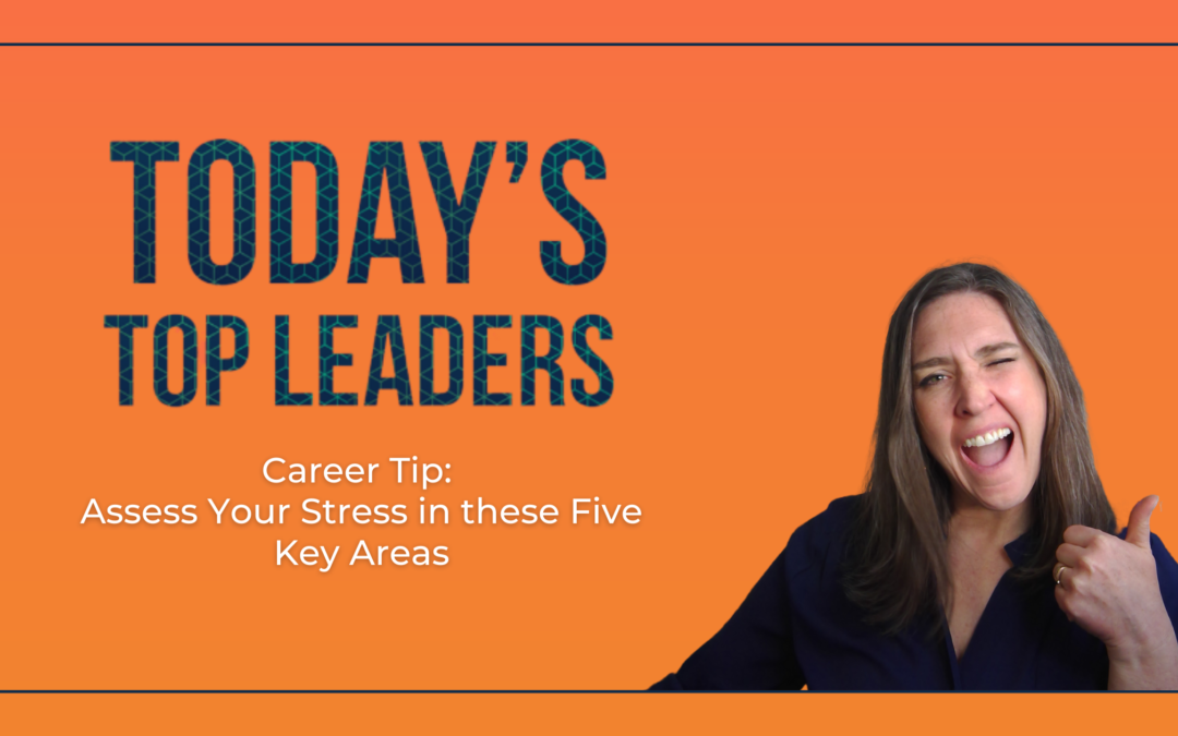 Career Tip: Assess Your Stress in these Five Key Areas